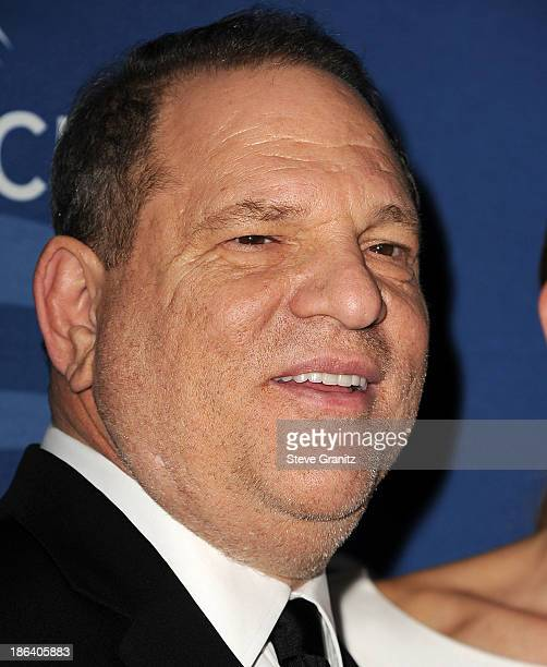 Harvey Weinstein arrives at the Oceana Partners Award Gala With Former Secretary Of State Hillary Rodham Clinton and HBO CEO Richard Pleple at Regent...