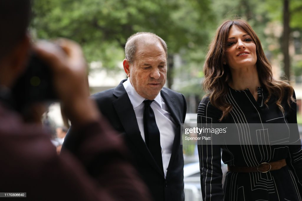 Harvey Weinstein In Court For Arraignment Over New Indictment For Sexual Assault : News Photo