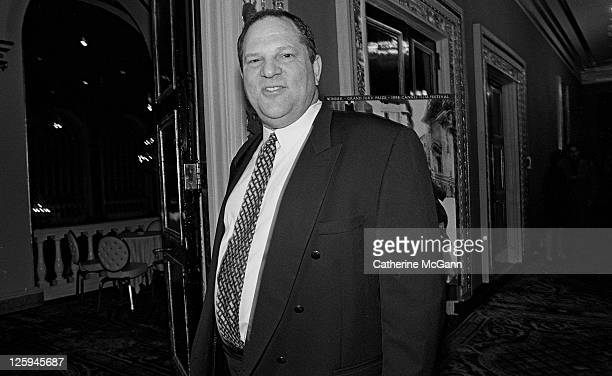 Harvey Weinstein at the New York premiere of the movie 'Life Is Beautiful' at the Gotham Theater in October 1998 in New York City New York