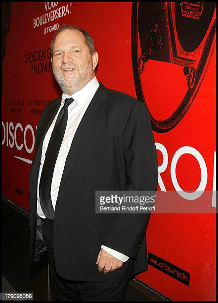 Harvey Weinstein at The Paris Premiere Of Le Discours D'Un Roi At Ugc Normandie Followed By A Reception At The British Embassy