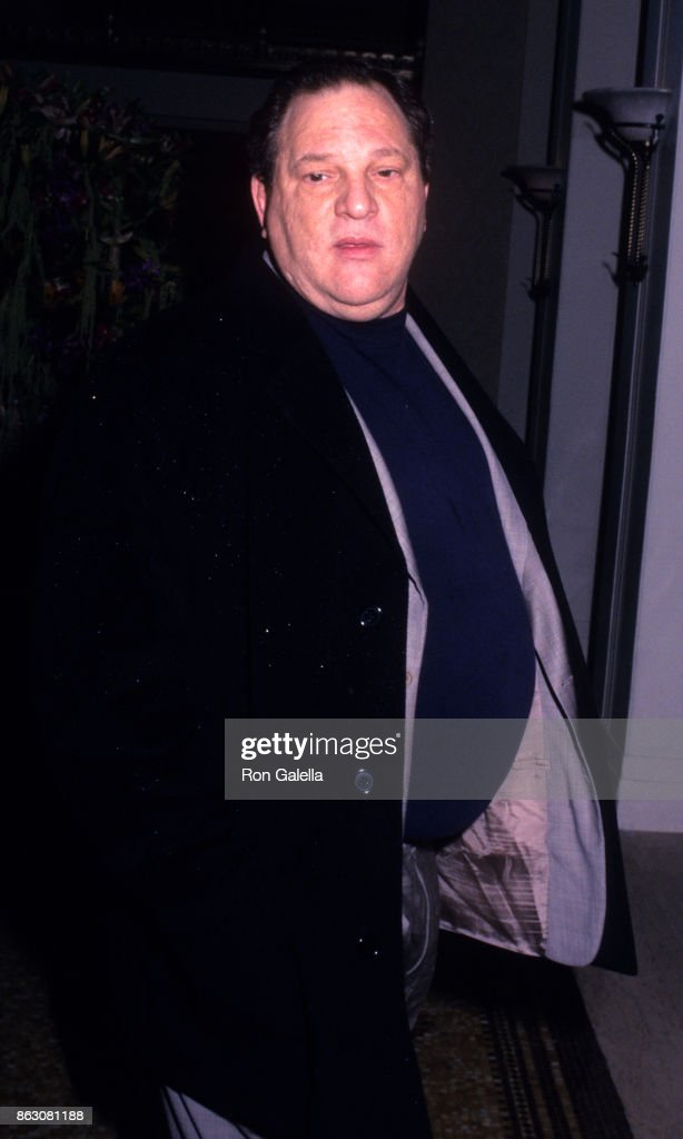 Harvey Weinstein attends '42nd and Vine' Hollywood Hits Broadway Benefit on November 12, 2002 at the Waldorf Astoria Hotel in New York City.
