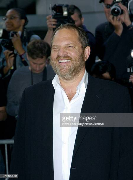 Harvey Weinstein attends a screening of Cinderella Man to benefit the Children's Defense Fund at the Loews Lincoln Square Theater