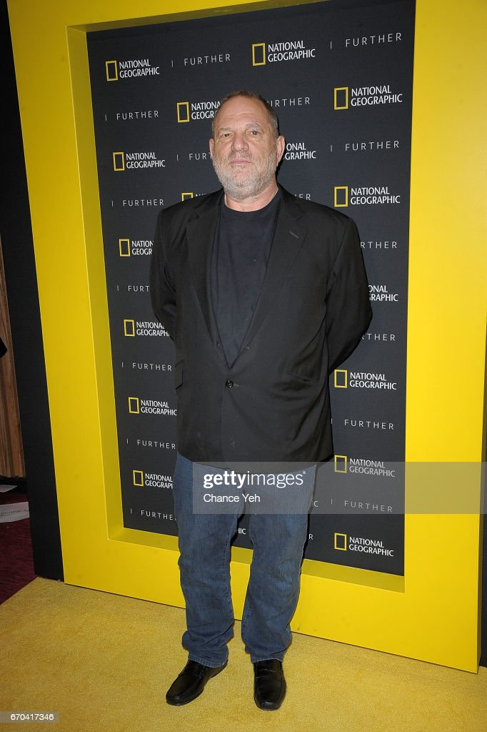 Harvey Weinstein attends National Geographic FURTHER FRONT at Jazz at Lincoln Center's Frederick P. Rose Hall on April 19, 2017 in New York City