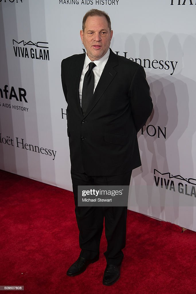 Harvey Weinstein attends the 2016 amfAR New York Gala at Cipriani Wall Street on February 10, 2016 in New York City.