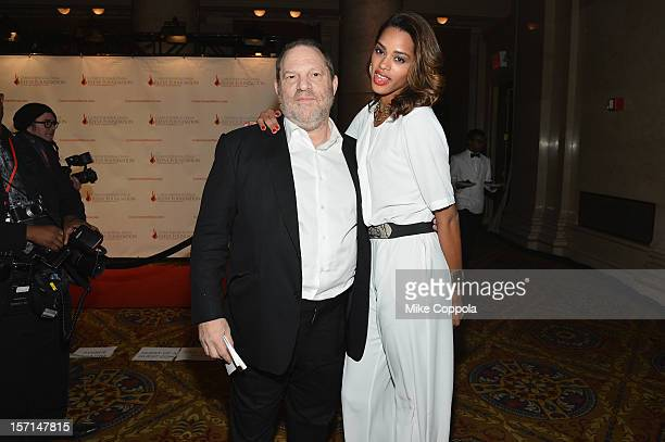 Harvey Weinstein attends the Christopher Dana Reeve Foundation's A Magical Evening Gala at Cipriani Wall Street on November 28 2012 in New York City