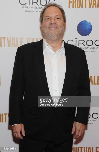 Harvey Weinstein attends the 'Fruitvale Station' screening at the Museum of Modern Art on July 8 2013 in New York City