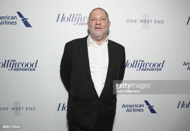 Harvey Weinstein attends The Hollywood Reporter 35 Most Powerful People In Media 2017 at The Pool on April 13 2017 in New York City