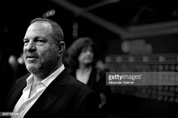 Harvey Weinstein attends the 'Lion' premiere and opening ceremony of the 12th Zurich Film Festival at Kino Corso on September 22 2016 in Zurich...