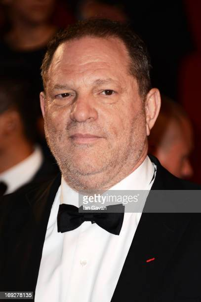 Harvey Weinstein attends the 'Only God Forgives' Premiere during the 66th Annual Cannes Film Festival at Palais des Festivals on May 22 2013 in...