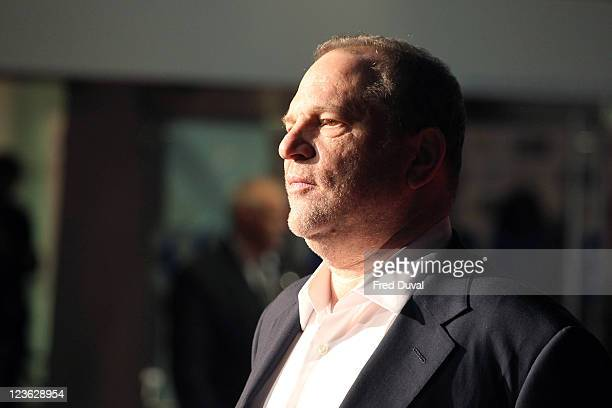 Harvey Weinstein attends the premiere of 'The King's Speech' during the 54th BFI London Film Festival at Odeon Leicester Square on October 21 2010 in...