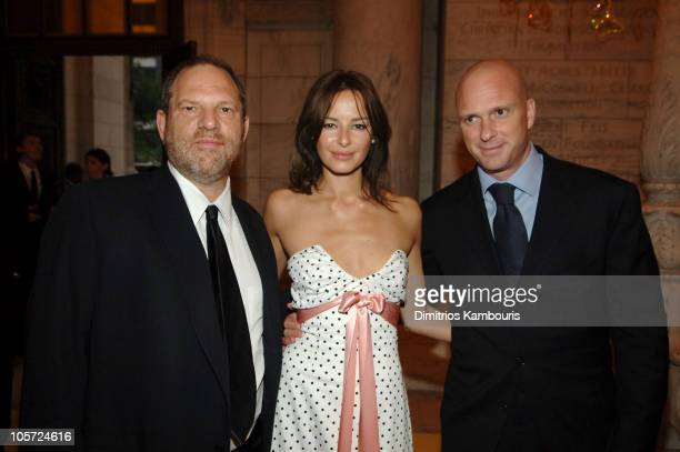 Harvey Weinstein Carolina Parsons and Giuseppe Cipriani