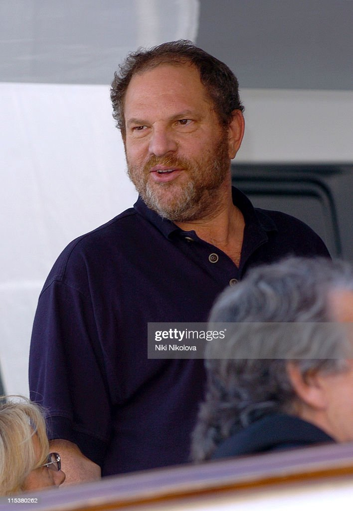 Harvey Weinstein during 2005 Cannes Film Festival - 'The Decameron' Photocall at Yacht Satine in Cannes, France.