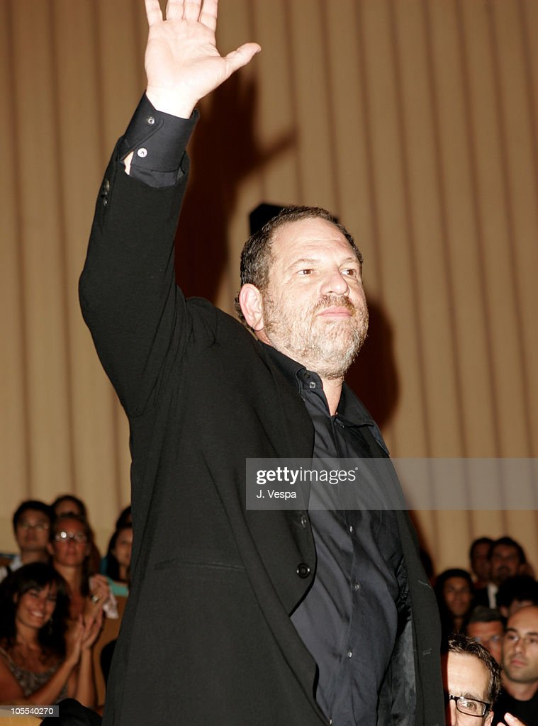 Harvey Weinstein during 2005 Venice Film Festival - 'Proof' Premiere - Inside at Palazzo del Cinema in Venice Lido, Italy.