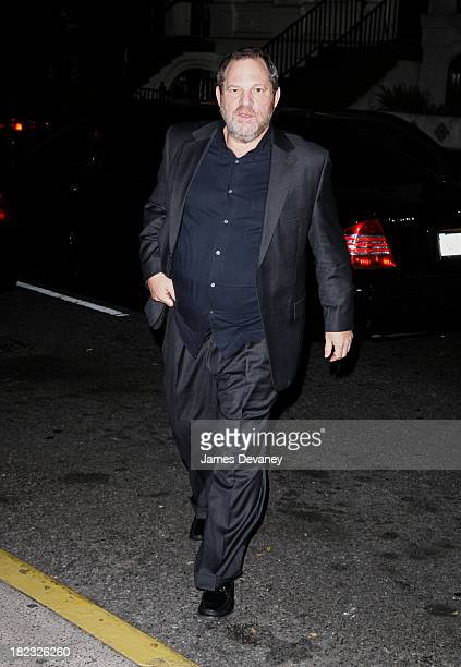 Harvey Weinstein during Harvey Weinstein Hosts a Private Screening of Bobby for Senators Obama and Schumer After Party at Plaza Athenee in New York...