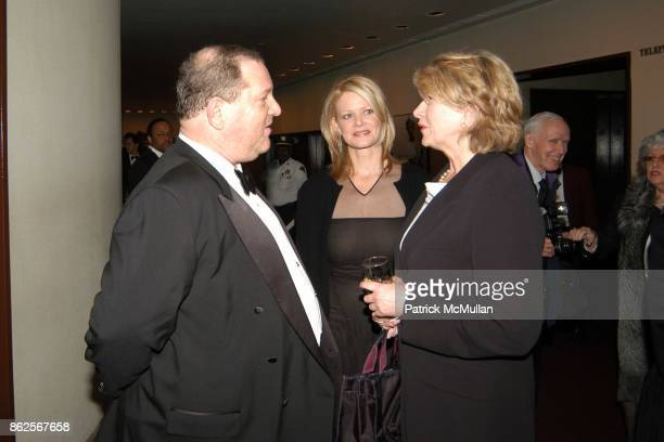 Harvey Weinstein Eve Chilton Weinstein and Martha Stewart attend Literacy Partners An Evening of Readings Honoring Verizon at New York State Theater...