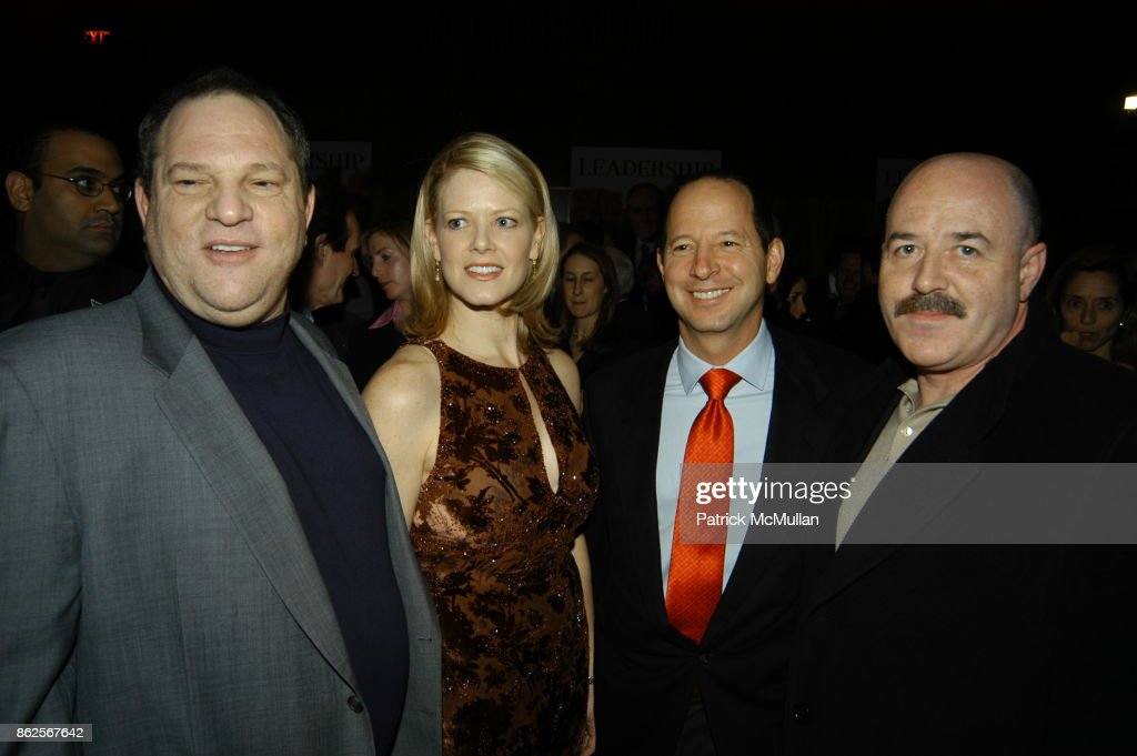 Harvey Weinstein, Eve Chilton Weinstein, Ron Galotti and Bernard Kerik attend Miramax Books Party for Rudolph Giuliani and his newest book 'Leadership' at Four Seasons Hotel on December 18, 2002 in New York City.