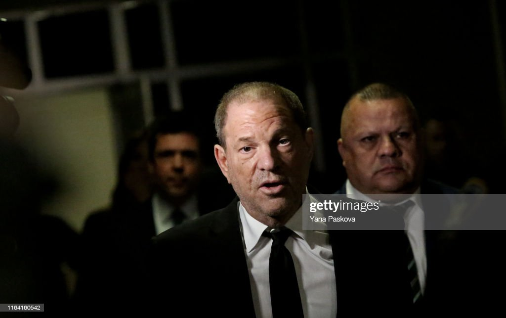 Harvey Weinstein In Court For Arraignment Over New Indictment For Sexual Assault : Fotografía de noticias