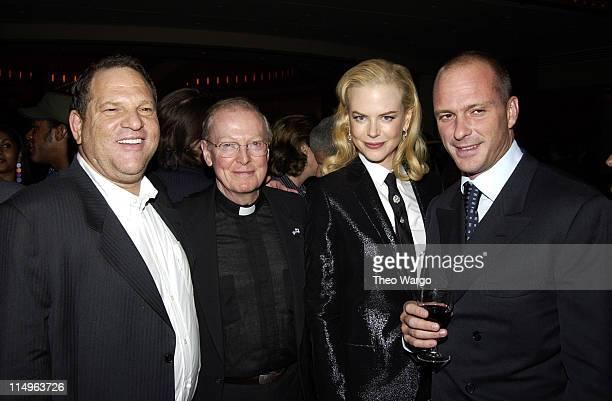 Harvey Weinstein Father Leo O'Donovan Nicole Kidman and Guiseppe Cipriani