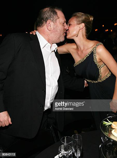 Harvey Weinstein greets actress Diane Kruger at the Design Cares Presents A Night Of A Thousand Lights To Benefit St Jude's Children's Research...