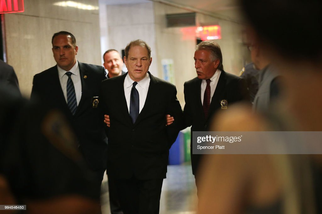 Harvey Weinstein Returns To Court On Three New Felony Sex Crimes : News Photo