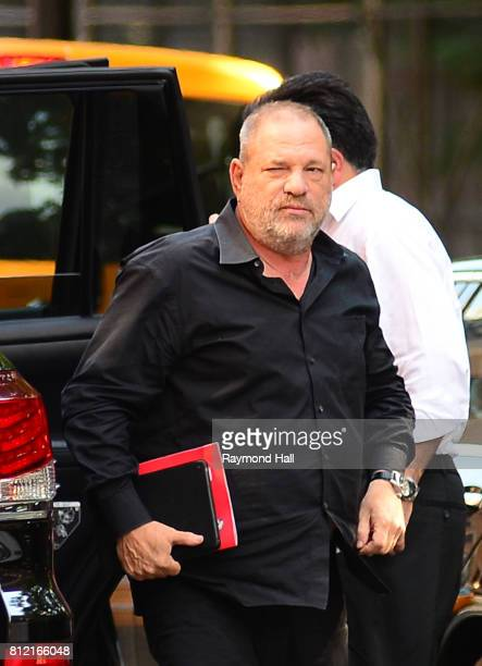 Harvey Weinstein is seen walking in Soho on July 10 2017 in New York City