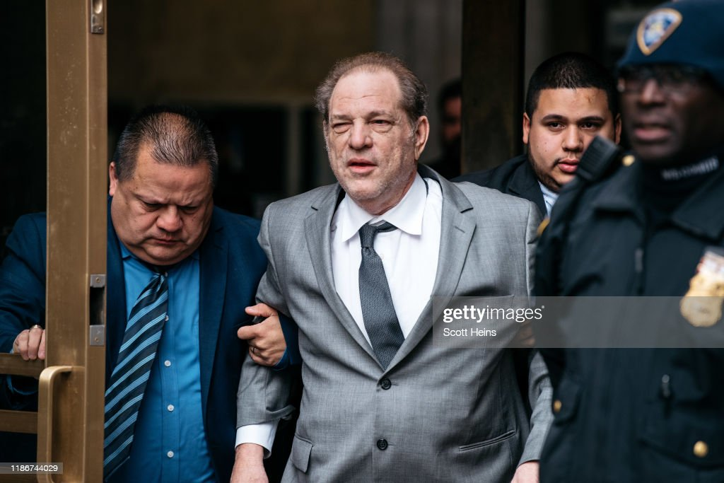 Harvey Weinstein Appears In Court For Bail Hearing : News Photo