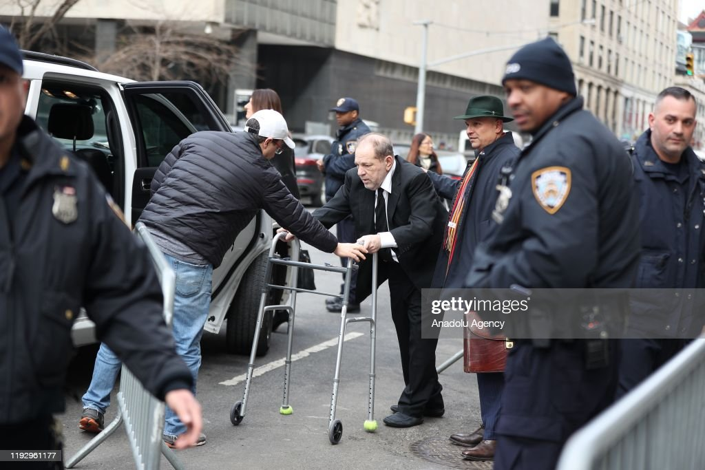 Harvey Weinstein leaves New York courthouse : Foto di attualità