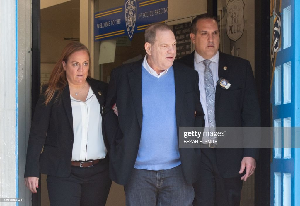 Harvey Weinstein Arrested On Rape Charge