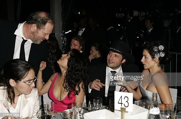 Harvey Weinstein Salma Hayek Robert Rodriguez and Penelope Cruz