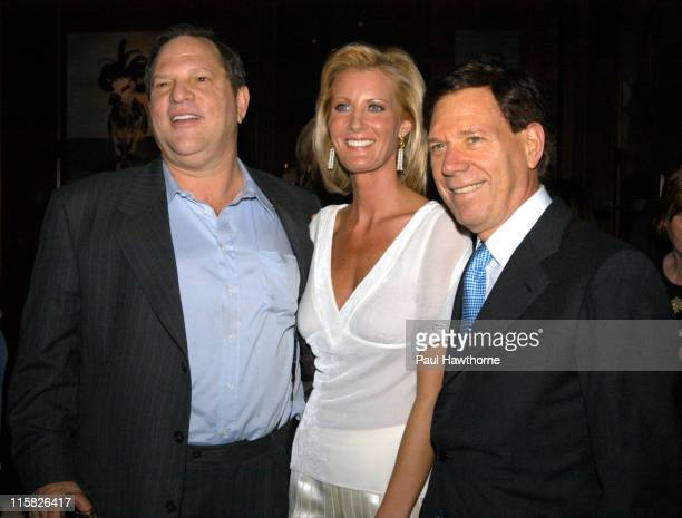 Harvey Weinstein Sandra Lee Peter Price during Launch of Sandra Lee's New SemiHomemade Holidays Magazine and Food Network Show in Conjunction with...