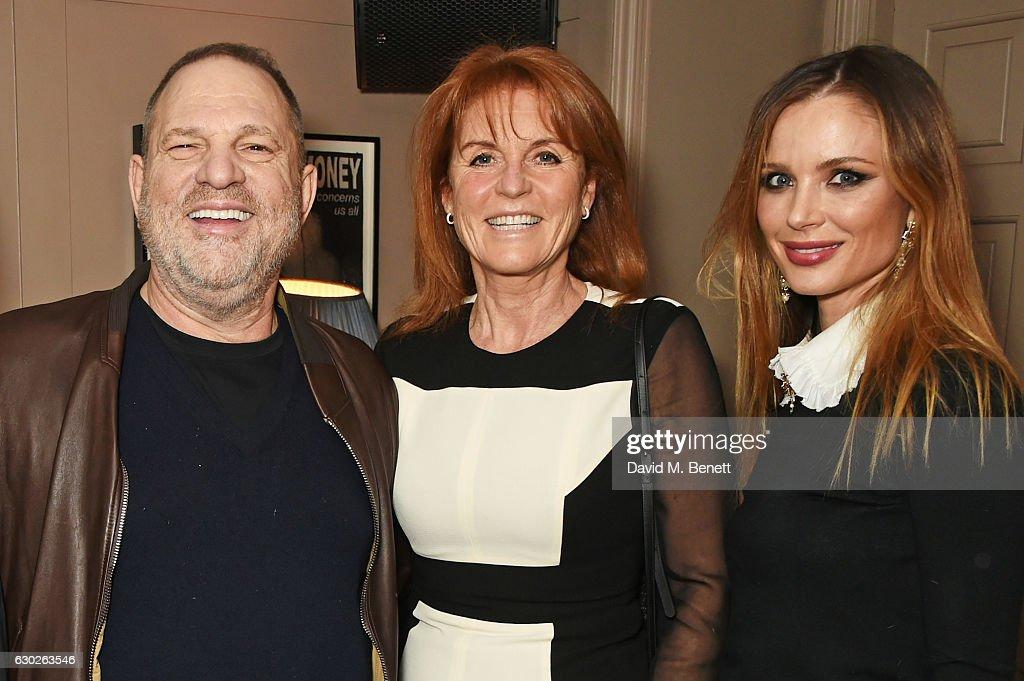 Harvey Weinstein & Georgina Chapman Host A VIP Screening Of 'Lion' At Soho House : News Photo