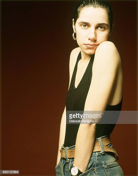 PJ Harvey with Hands in Pockets