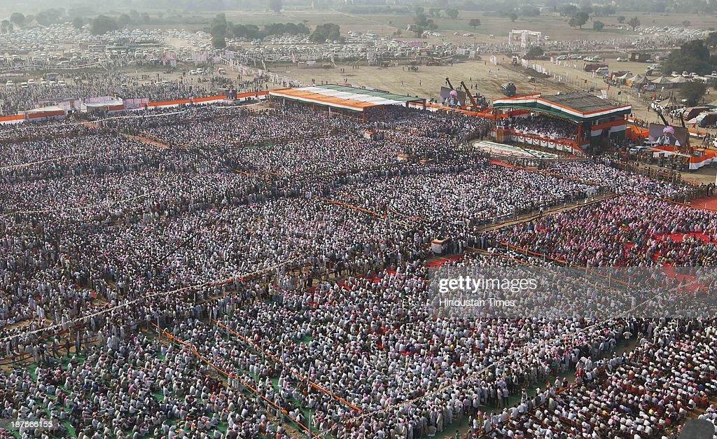 Haryana Shakti Rally : News Photo