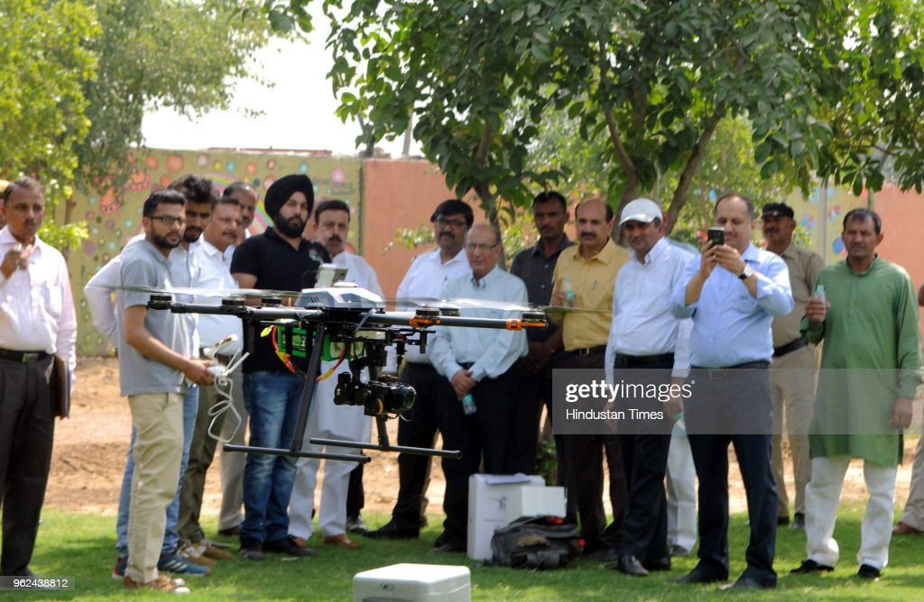 Haryana Fprest Department Deploys Two Drones To Watch Aravalis