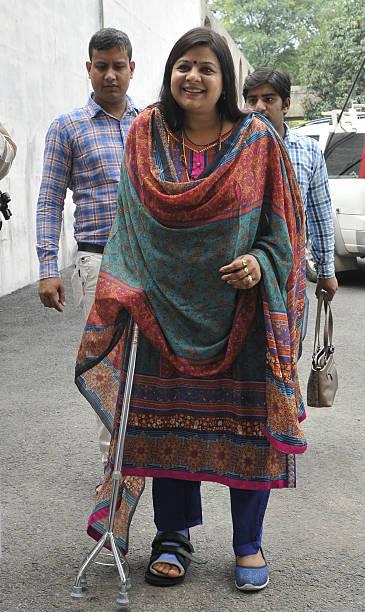 Haryana minister Kavita Jain at Haryana Vidhan Sabha on August 30 2016 in Chandigarh India