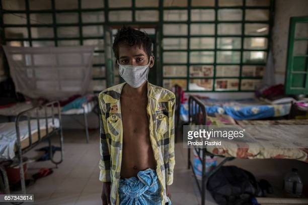 ALAM has been suffering from TB for last 3 months at National Institute of Diseases of Chest and Hospital on World Tuberculosis Day in Dhaka...