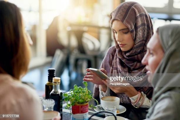 has her phone replaced her friends? - insulting islam stock pictures, royalty-free photos & images