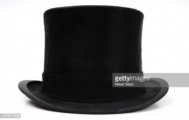 hat - top hat stock pictures, royalty-free photos & images