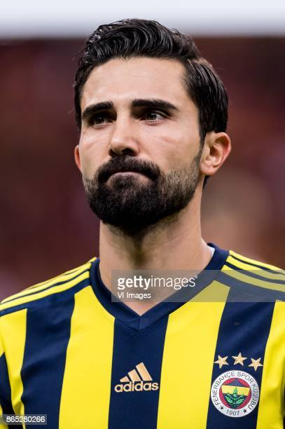 Hasan Ali Kaldirim of Fenerbahce SK during the Turkish Spor Toto Super Lig football match between Galatasaray SK and Fenerbahce AS on October 22 2017...