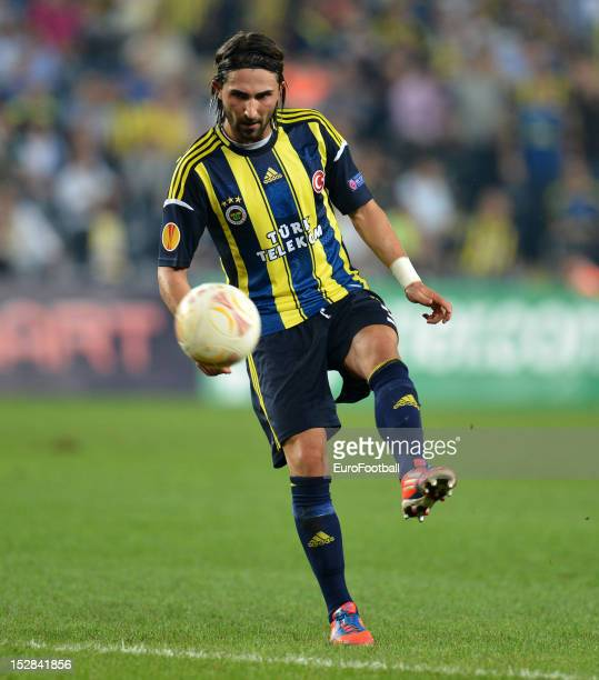 Hasan Ali Kaldirim of Fenerbahce SK in action during the UEFA Europa League group stage match between Fenerbahce SK and Olympique de Marseille on...