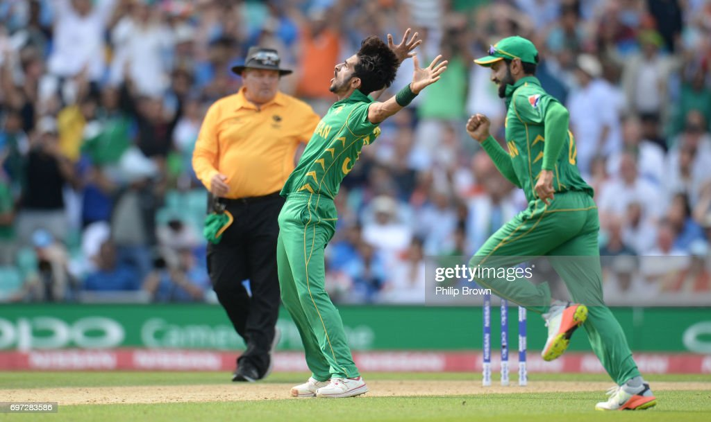India v Pakistan - ICC Champions Trophy Final : News Photo