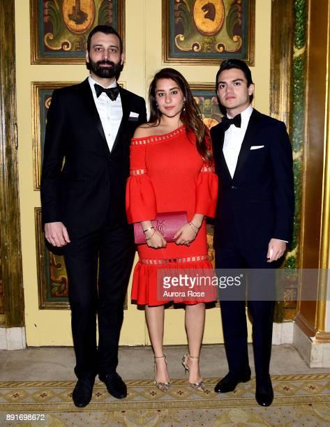 Hasan Green Andrea Casanova and Alain Boulos attend Casita's Fiesta 2017 at The Plaza Hotel on October 17 2017 in New York City