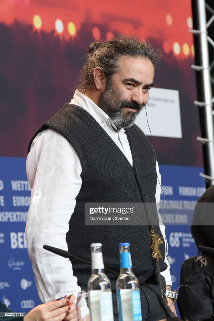 Hasan Majuni attends the 'Pig' (Khook) press conference during the 68th Berlinale International Film Festival Berlin at Grand Hyatt Hotel on February 21, 2018 in Berlin, Germany.