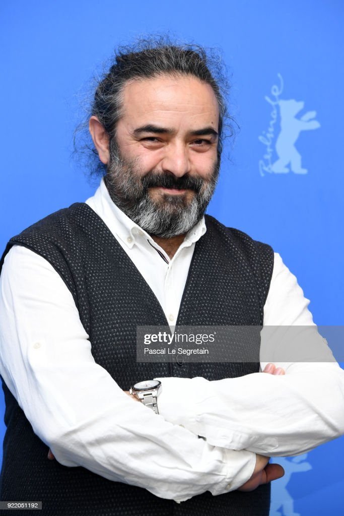Hasan Majuni poses at the 'Pig' (Khook) photo call during the 68th Berlinale International Film Festival Berlin at Grand Hyatt Hotel on February 21, 2018 in Berlin, Germany.