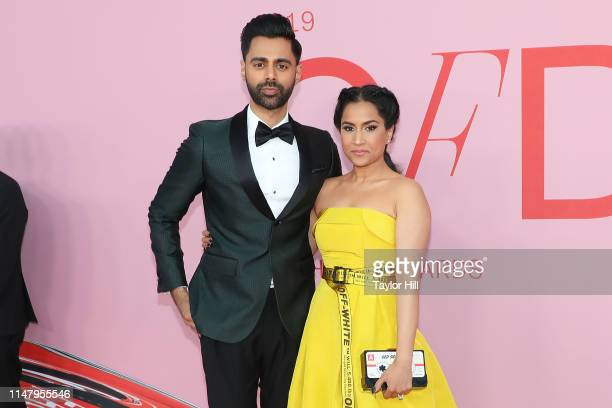 Hasan Minhaj and Beena Patel attend the 2019 CFDA Awards at The Brooklyn Museum on June 3, 2019 in New York City.