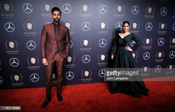 Hasan Minhaj and Beena Patel attend the 78th Annual Peabody Awards at Cipriani Wall Street on May 18, 2019 in New York City.