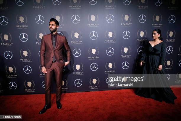 Hasan Minhaj and Beena Patel attend the 78th Annual Peabody Awards at Cipriani Wall Street on May 18 2019 in New York City