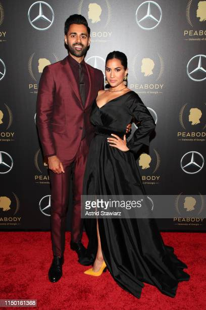Hasan Minhaj and Beena Patel attend the 78th Annual Peabody Awards Ceremony Sponsored By Mercedes-Benz at Cipriani Wall Street on May 18, 2019 in New...