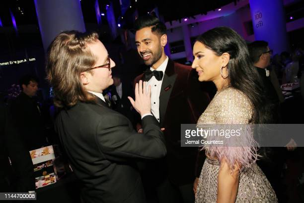 Hasan Minhaj and Beena Patel attend the TIME 100 Gala Red Carpet at Jazz at Lincoln Center on April 23 2019 in New York City