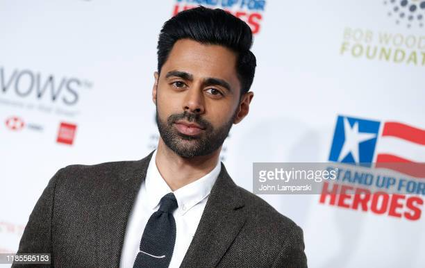 Hasan Minhaj attends 13th Annual Stand Up For Heroes at The Hulu Theater at Madison Square Garden on November 04, 2019 in New York City.